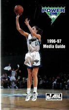 1996-97 Portland Power ABL Women's Basketball Media Guide - WNBA #FWIL