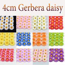100Pcs/lot Daisy Silk Flowers Artificial Gerbera Sunflower Silk Flower Wedding