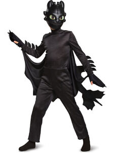 Child's Deluxe How To Train Your Dragon 3 Toothless Costume