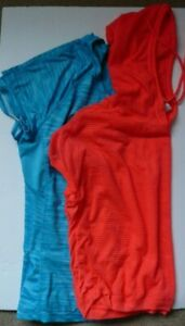 Women's Sports Activewear Lot of 2 Mesh Top Size Large