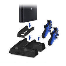 Multi-function cooling base Bracket Dual USB Charging Station for PS4/Slim/Pro
