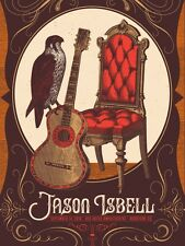 Jason Isbell 9/14/2016 Red Rocks Amp Co Poster Numbered Artist Edition #40