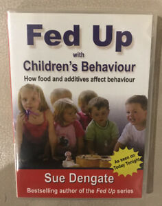 FED UP with Children's Behaviour Sue Dengate  DVD R4  As New