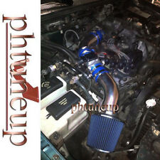 BLUE 1998-2001 FORD RANGER SE SX 2.5 2.5L AIR INTAKE KIT SYSTEMS + FILTER