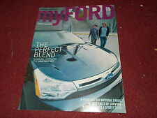 2008 FORD FOCUS SES MODEL INTRODUCTION MYFORD MAGAZINE SALES BROCHURE NICE