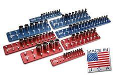 Billet Aluminum Socket Organizer Set Tool Holders/Trays
