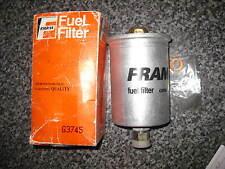 NEW FUEL FILTER - G3745 - FITS: VOLKSWAGEN SCIROCCO 1.8i (EVA ENGINE) 1984-88
