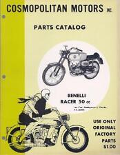 1960's Benelli 50cc 65cc 2-stroke 4 books full size Fireball, Racer motorcycles