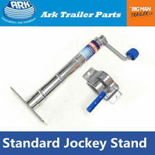 Ark Trailer Jockey stand Zinc 350kg Rate 250mm Extension with Fixed clamp