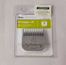 Oster No 4 Dog Grooming Clipper Blade