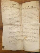 CREATION D'UN OFFICE NOTARIAL VICOMTE DE VIALLA AUCH 1777