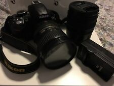 Nikon D3100 Camera - Black w/ AF-S Nikkor DX 18-70mm and AF-S Nikkor DX 18-200mm