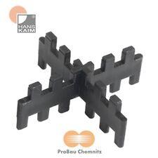 250 Stück Plattenfix Fugenkreuze (PP) gezackt, stapelbar, 4 x 20 mm, 75 mm lang