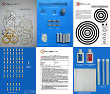 1979 Bally Paragon Pinball Deluxe Tune-up Kit - Includes Rubber Ring Kit!