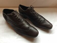 Men's Bronx Leather Shoes Brown Size 43 UK 9