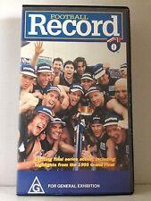 FOOTBALL RECORD CARLTON BLUES 1995 HIGHLIGHTS ~ VHS VIDEO