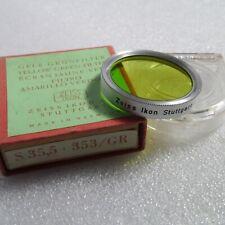 Zeiss Ikon 353 S35.5mm Yellow Green Filter B+W film SLR Genuine