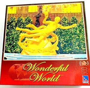 Wonderful World Rockefeller Center 500 piece Jigsaw Puzzle 48.26 x 35.56 cm