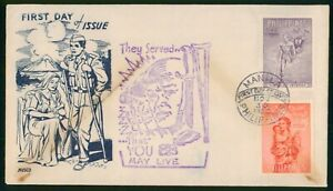 MayfairStamps Philippines 1950 War Disabled Military First Day Cover wwo31261