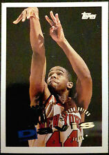 1995-96 Topps #98 Hubert Davis New York Knicks