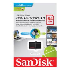 SanDisk Ultra Dual 64GB OTG USB 3.0 Stick SDDD2-064G-G46 64 GB micro USB