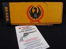 Ruger New Model Blackhawk .44 Magnum Revolver Gun Box