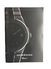 Brochure : Chopard Alpine Eagle Watch . Luxury Brand. Interesting RARE Brochure!