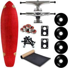 "Moose Longboard Complete 9.75"" x 36.75"" Kicktail Red"