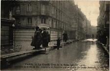 CPA La Grande Crue de la Seine. 37 Rue du Bac Systeme americain (561715)