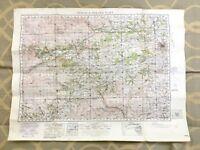 1933 Militare Mappa Di Perth Scozia Strath Guadagnare Originale Guerra Ufficio