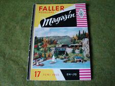 Faller ams   - Magazin Nr. 17