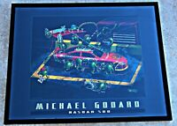 """Michael Godard, """"Nasbar 500"""" Print, 2006, Framed, Signed in Plate"""