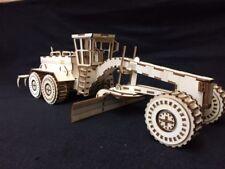 Laser Cut Wooden Cat 24H Grader 3D Model/Puzzle Kit