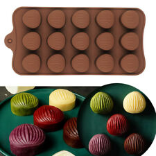 Chest-Nuts Shell Silicone Chocolate Cake Mould Candy Wax Soap Melt Ice Tray Mold