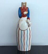 Robj - La cantinière bouteille à liqueur en porcelaine de Limoges H.28 cm