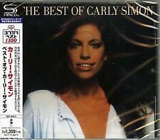 CARLY SIMON-THE BEST OF THE CARLY SIMON-JAPAN SHM-CD C41