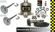 "GM 8.875"" 12 Bolt Truck Yukon Duragrip Posi + Gear Set + Axles 4.11 Timken Kit"