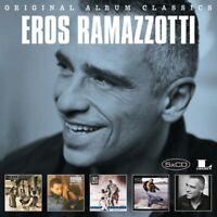 EROS RAMAZZOTTI - ORIGINAL ALBUM CLASSICS  5 CD NEUF