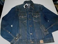 GUESS JEANS TRUCKER MOTORCYCLE JACKET MENS SIZE MEDIUM NWT