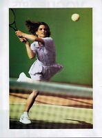 1992 NIKE AIR Shoes & Body Suit  :  tennis : magazine Print AD   2-pg
