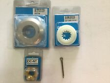 Omc Johnson Etec Propeller Hardware Thrust Washer Spacer Lock Tab And Nut