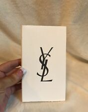 YSL Saint Laurent Y-Mail Cream Paper Book Refill, 6.5 X 3.75, Unlined