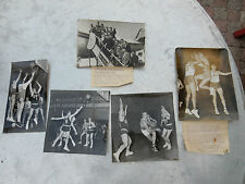 More details for french basketball group of historic photographs as a lot