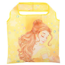 Disney Store Japan Beauty And The Beast Princess Belle Foldable Eco Bag Yellow