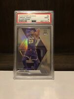 2019-20 Mosaic LeBron James Silver Prizm PSA 9 Refractor #8 Lakers Uniform! MINT