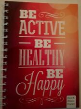 Food and fitness tracker diary Diet Journal be active