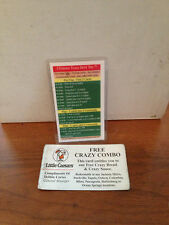 Ultimate Texas Hold em Strategy Card