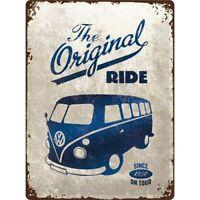 VW Camper Originale Ride Goffrato Edizione Speciale Segno Del Metallo 400mm x