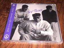New Tré Peace - The Definition 1995 GBM Records, Inc. Promo CD Swing R&B Hip Hop