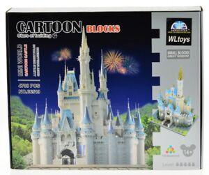 Magical Dream Castle Micro Mini Block Model Building Set Kids Adults 4078 Pcs